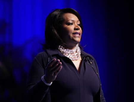 Consuelo Wilkins, MD, MSCI, was a featured speaker at the assembly.