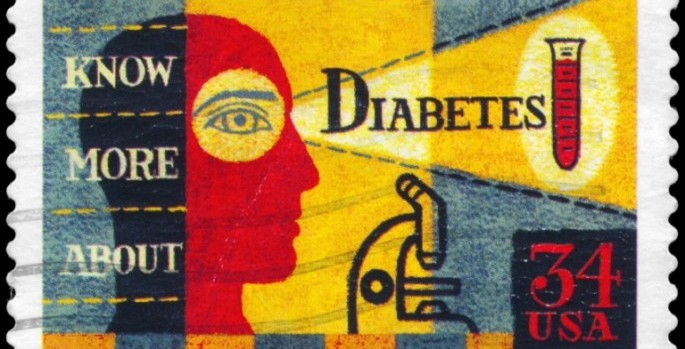 diabetes commemorative stamp
