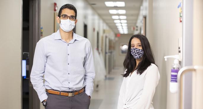 Osama El Shamy, MD, and Megha Salani, MD, are working to expand VUMC's Home Dialysis Program.