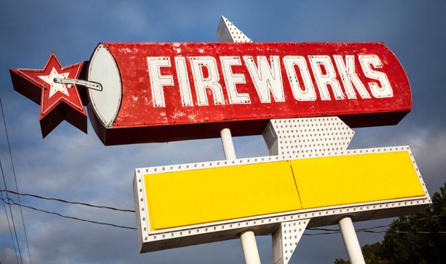 Fireworks (iStockphoto)