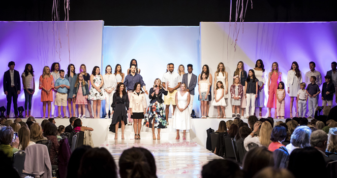 Friends of Monroe Carell Jr. Children's Hospital at Vanderbilt's recent Friends & Fashion show featured patients walking the runway alongside professional models.