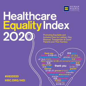 Human Rights Campaign Healthcare Equality Index (HEI) logo