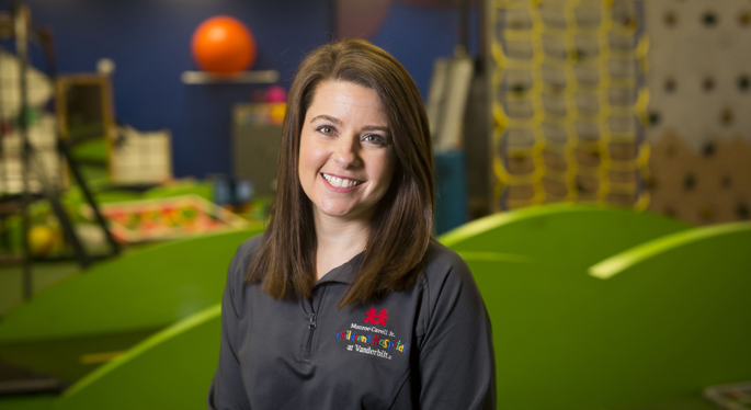 Lindsey Ham is the Occupational Therapy clinical team leader at Monroe Carell Jr. Children's Hospital at Vanderbilt.