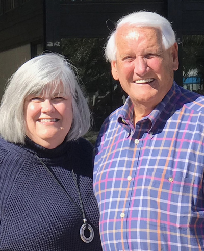 Ken and Kathy Hazelwood are among those who have received treatment at VUMC's COVIDInfusion Clinic.
