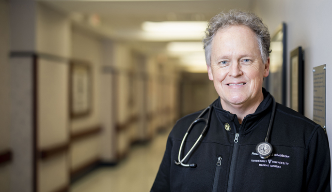 Bart Huddleston, MD, said serving as a liaison has been one of his most memorable clinical experiences.