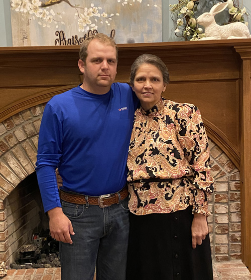 Sam Burnett donated part of his liver to his mother, Tammy Burnett. The two became part of the first living donor liver transplant at Vanderbilt since the program was restarted last year.