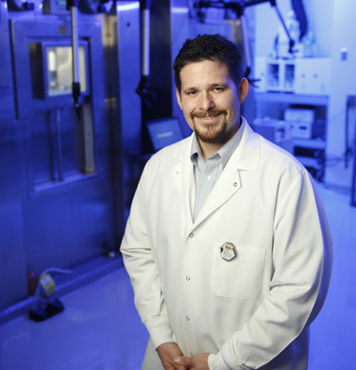 Charles Manning, PhD, and colleagues are working to improve the effectiveness of immunotherapies earlier in treatment.