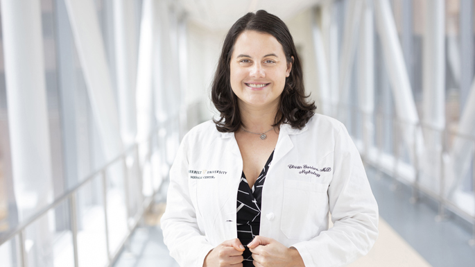 Christin Giordano McAuliffe, MD, and fellow VUMC medical residents played a key role creating more flexible leave policies for physicians-in-training across the country.