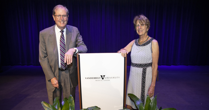 John Sergent, MD, and Marie Griffin, MD, MPH, were recognized for their longtime efforts in support of diversity and inclusion.