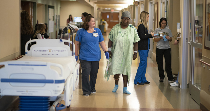 An initiative at VUMC is helping patients recover more quickly from major surgery, leave the hospital earlier and have fewer side effects from their pain management.