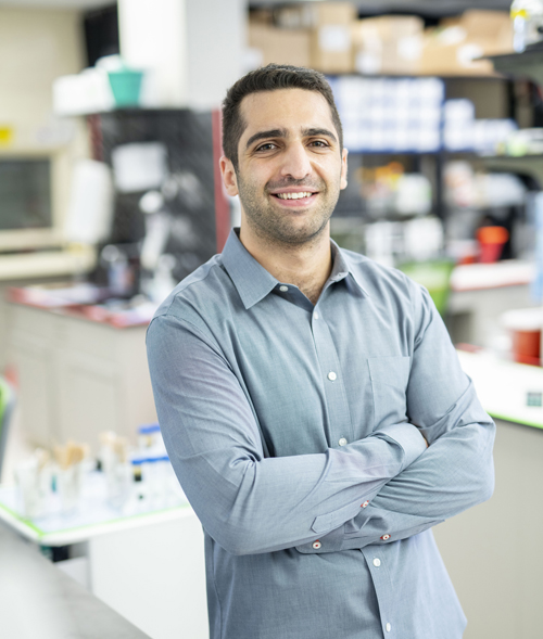 Cody Siciliano, PhD, is studying the neural substrates of memory.