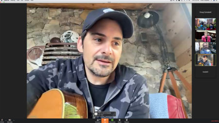 Tuesday's State of Nursing teleconference featured a surprise visit from country music superstar Brad Paisley.
