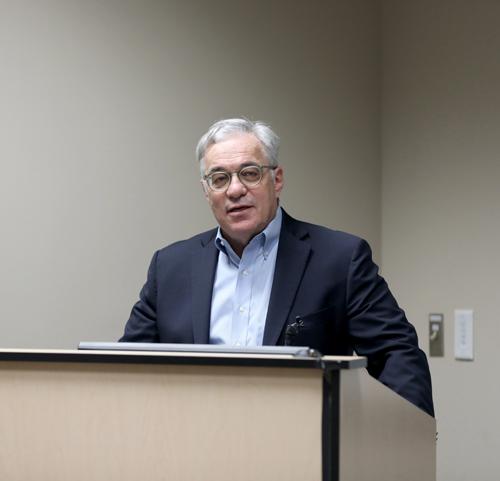 Steven Webber, MBChB, MRCP, delivered last week's State of the Department of Pediatrics address at Monroe Carell Jr. Children's Hospital at Vanderbilt.