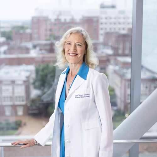 Lynne Warner Stevenson, MD, has been honored for her contributions to the field of heart failure.