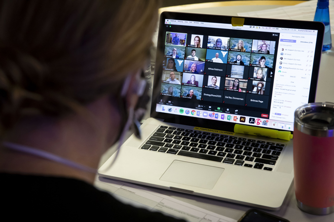 Switching to an online format enhanced interactions as StrategyShare2020 presenters were virtually connected to attendees by way of their computer or smartphone screens, and question-and-answer sessions provided easy interactions.