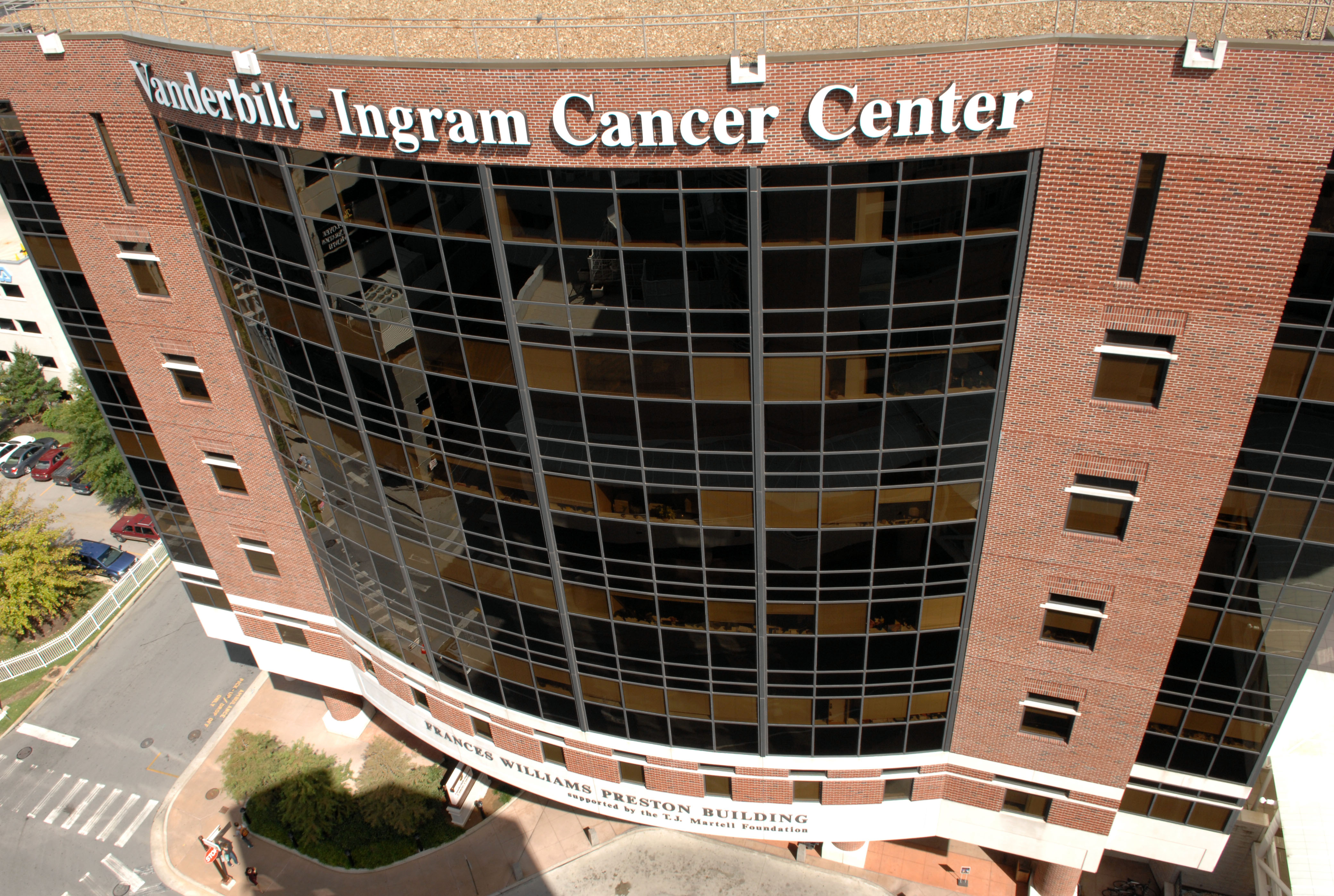 The Vanderbilt Ingram Cancer Center (Neil Brake/Vanderbilt)