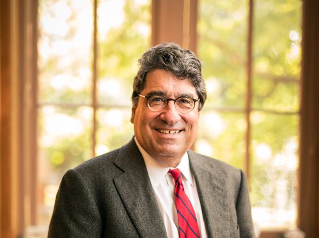 Chancellor Nicholas S. Zeppos (Daniel Dubois/Vanderbilt University)