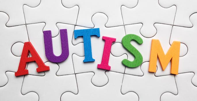 autism concept: puzzle