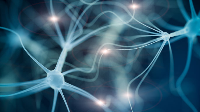 Istock image of neurons in the brain